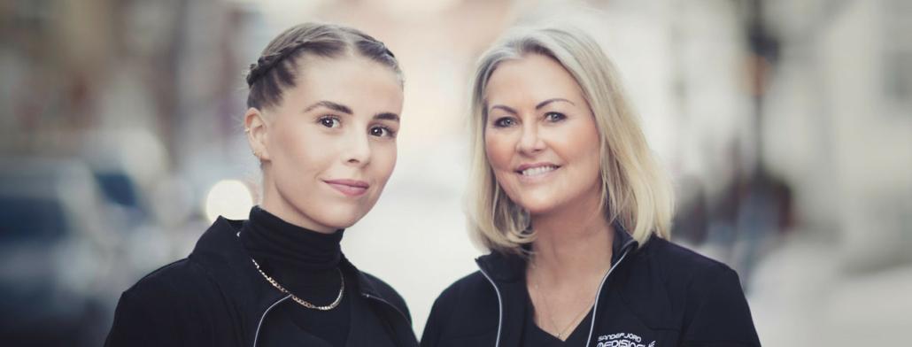 Lene Dyrnes og Ann Kristin Myhre